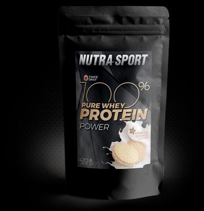 100% Pure Whey Protein Vanilla Cookie